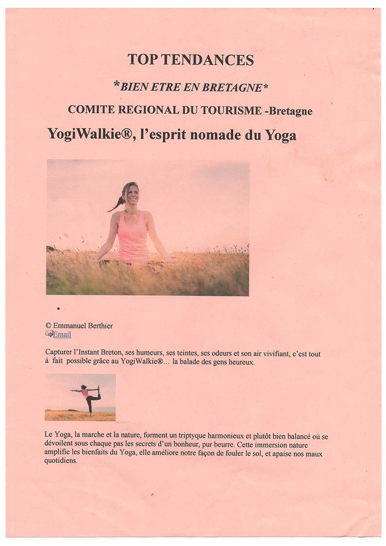 presse yogiwalkie top tendance